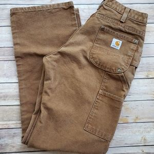 Carhartt 6 Women's Double Front Work Pants EUC
